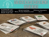 Articulation Cards: Affricate Consonants /ch, j/