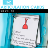 Articulation Cards: CH, SH, TH sounds   Speech Therapy