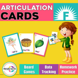 Articulation Cards: Games for speech Therapy /f/ sound