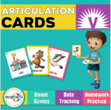 Articulation Cards: Games for speech Therapy /v/ sound