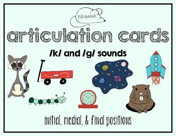 Articulation Cards: K sound