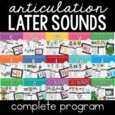 Articulation Program |The Complete Bundle (+ Boom Cards)
