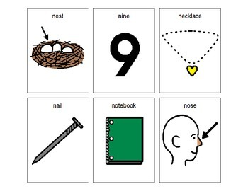 Articulation Cards - N