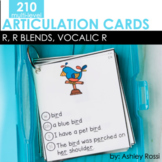 Articulation Cards: R, R Blends, Vocalic R