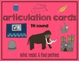 Articulation Cards:  TH sound