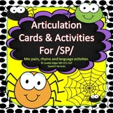 Articulation Cards and Activities for SP- with Minimal Pairs