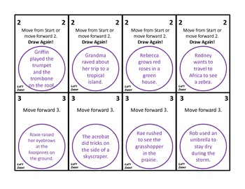 Articulation Cards for Sorry - R and R Vowels
