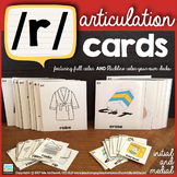 Articulation Cards for /r/ {initial and final position}