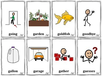 Articulation Cards: /k/ and /g/