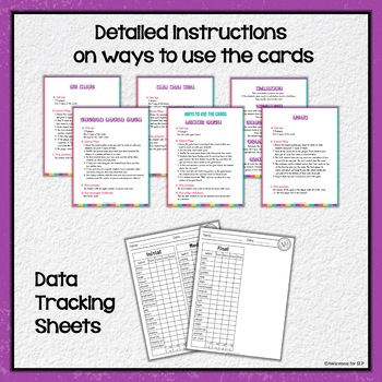 Articulation Cards Games /sh/ sound