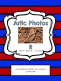 Articulation Cards with Real Photos: R-Initial, Vocalic R,