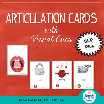 Articulation Cards with Visual Cues