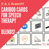 Articulation Cariboo Cards for Speech Therapy: BLENDS!
