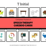 Articulation Cariboo Cards for Speech Therapy - Complete Set
