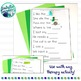Articulation Carrier Phrases and Sentences Freebie