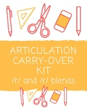 NO PREP and NO PRINT: Articulation Carry-Over Kit for /r/