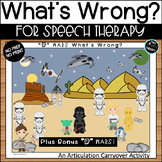 """Articulation Carryover Activity: R WARS """"What's Wrong?"""""""