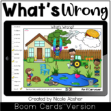 Articulation Carryover Activity What's Wrong SPRING Boom Cards™
