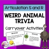 Articulation Carryover; Conversation Level Activities for Speech Therapy