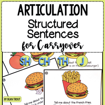 Articulation Activity for Carryover BUNDLE