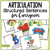Articulation Carryover Structured Sentences for F G K and L