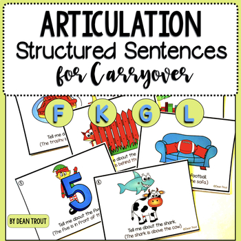 Articulation  Activity forCarryover of F G K and L