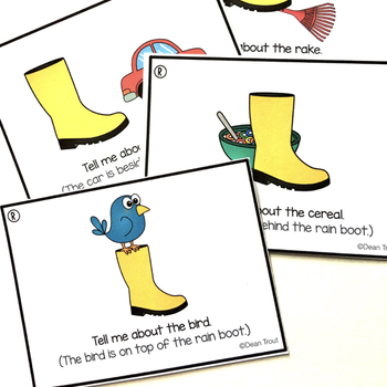 Articulation Carryover Activities for S R and Blends
