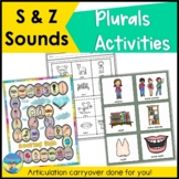 Articulation Carryover and Language Activities   S Z   Plurals   Speech   Syntax