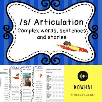 Articulation Carryover /s/ - Stories, sentences, words