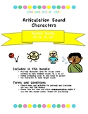 Articulation Character Visuals- Bilabial Bundle