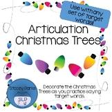 Articulation Christmas Trees - Freebie