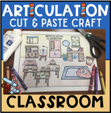 Articulation Classroom! Speech Therapy Craft Activity