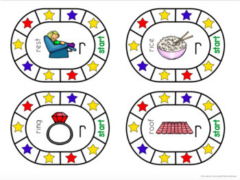 Articulation Clip Cards Set 1: speech and language therapy