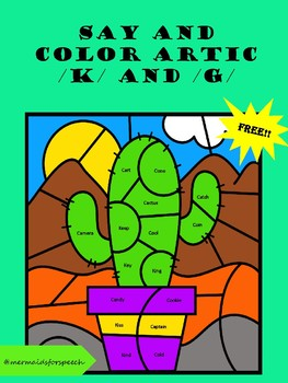 Articulation Coloring Page