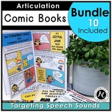 Articulation Therapy Activity Elementary Bundle Distance Learning