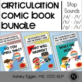 Articulation Therapy Activity Bundle Stop Speech Sounds