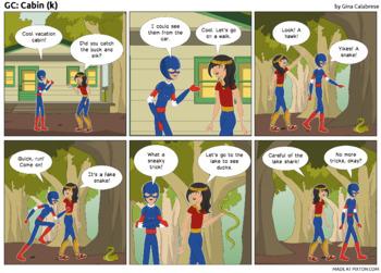 Articulation Comic: /k/ (2)