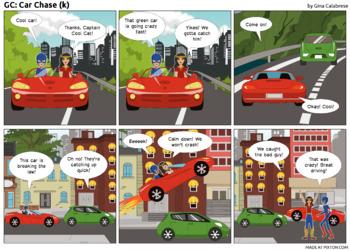 Articulation Comic: /k/ (10)
