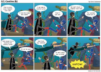 Articulation Comic: /k/ (12)