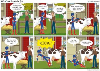 Articulation Comic: /k/ (13)