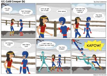 Articulation Comic: /k/ (3)