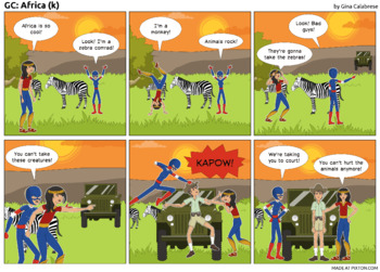 Articulation Comic: /k/ (5)