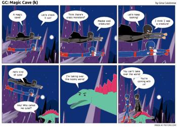 Articulation Comic: /k/ (9)