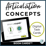 Articulation Concepts BOOM Cards for Digital Speech Therapy
