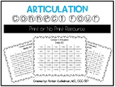 Articulation Connect Four K/G