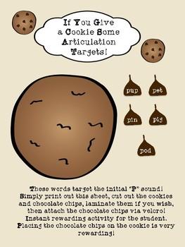 Articulation Cookie Activity!!