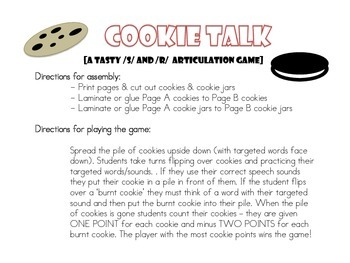 Articulation Cookie Talk