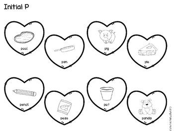 Articulation Craftivities: Heart Wreaths