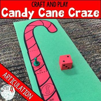 Articulation Craftivity: Candy Cane Craze