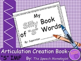 Articulation Creation Book- S